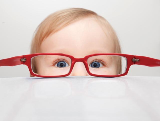 color de los ojos bebés